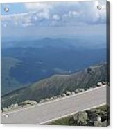 Mount Washington New Hampshire Auto Road Views Acrylic Print
