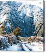 Mountain And Ice Acrylic Print