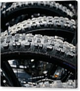 Mountain Bike Tires Acrylic Print