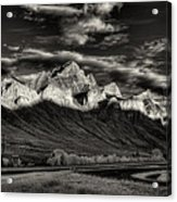 Mountain Canmore Acrylic Print