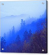 Mountain Mist Acrylic Print