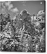 Mountain Peaks Acrylic Print by Lisa  Spencer