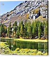 Mountain Pond Acrylic Print