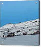 Mountain Range Along The Dempster Highway Acrylic Print