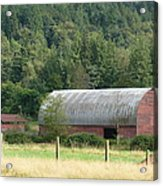 Mountain Side Farm Acrylic Print