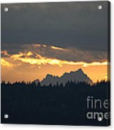 Mountain Sunrise Acrylic Print