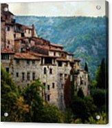 Mountain Village Acrylic Print