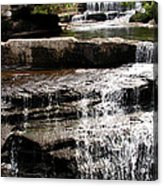 Mountain Waterfall Acrylic Print