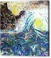 Mountain Wave Acrylic Print