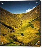 Mountains And Hills Acrylic Print