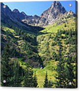 Mountains In North Cascades National Park Acrylic Print by Pierre Leclerc Photography
