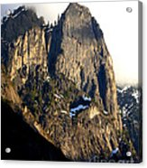 Mountains Of Yosemite . 7d6167 . Vertical Cut Acrylic Print
