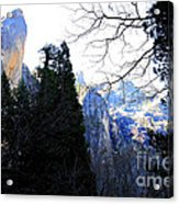 Mountains Of Yosemite . 7d6213 Acrylic Print by Wingsdomain Art and Photography