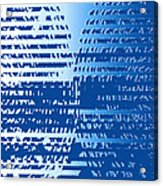 Moveonart Bracefortheshift Acrylic Print
