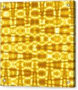 Moveonart Goldenblanket Acrylic Print
