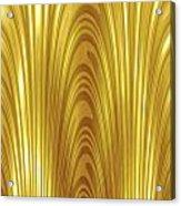 Moveonart Goldlight Acrylic Print