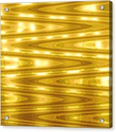 Moveonart Goldlightdream Acrylic Print