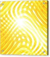 Moveonart Higherlightandwaves Acrylic Print