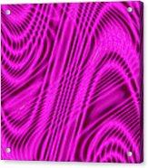 Moveonart Wavesforchange Acrylic Print