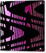 Moveonart Wavesfutureair Acrylic Print