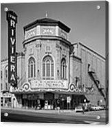 Movie Theaters, The Grand Riviera Acrylic Print