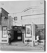 Movie Theatre, The New Glades Theater Acrylic Print