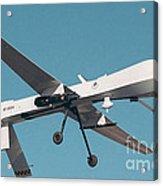 Mq-1 Predator Drone Acrylic Print