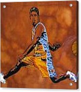 Mr Assist Steve Nash Acrylic Print