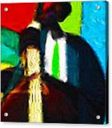 Mr. Bassman Acrylic Print