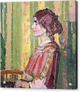 Mrs Robert Bevan Acrylic Print
