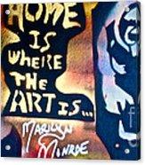 Ms. Marilyn Acrylic Print