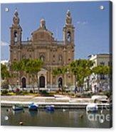 Msida Church Acrylic Print