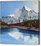 Mt Challenger Acrylic Print