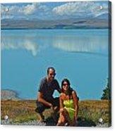 Mt. Cook Lake Acrylic Print
