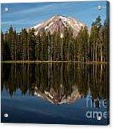 Mt Lassen In Summit Lake Acrylic Print