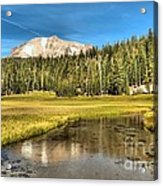 Mt Lassen Reflections Acrylic Print