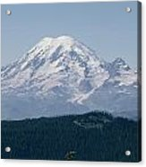 Mt. Rainier Seen From The Yakima Valley Acrylic Print
