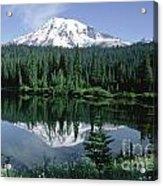 Mt. Ranier Reflection Acrylic Print