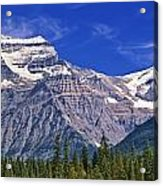 Mt. Robson, British Columbia Acrylic Print