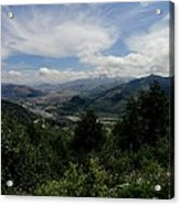 Mt St Helens Lookout Acrylic Print