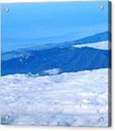 Mt Tamalpais From The Air Acrylic Print