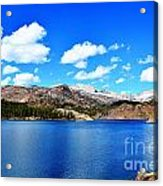 Mtn Lake Bliss Acrylic Print