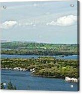 Muckross Lake From Atop Torc Waterfall 2 Acrylic Print