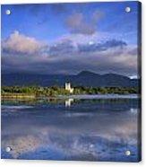 Muckross Lake, Ross Castle, Killarney Acrylic Print