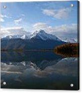 Mud Lake Reflection Acrylic Print
