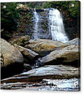 Muddy Creek Falls 2 Acrylic Print