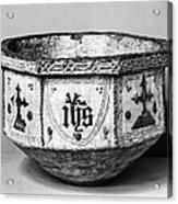 Mudejar Baptismal Font Acrylic Print