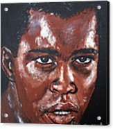 Muhammad Ali Formerly Cassius Clay Acrylic Print