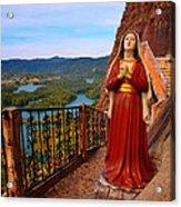 Mujer De La Piedra Acrylic Print