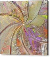 Multi Colored Pinwheel Acrylic Print